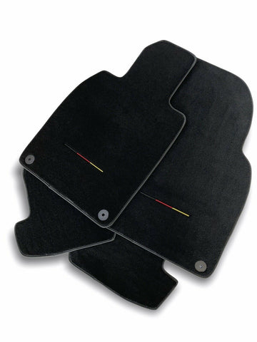 Floor Mats for Audi A3 2003-2013 8P7 Convertible Cabriolet Carpet Black