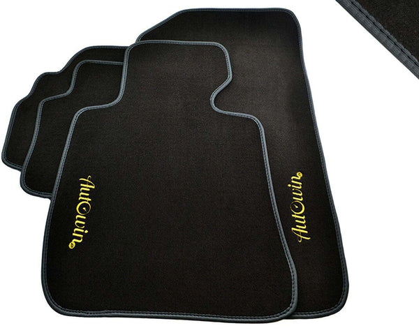 FLOOR MATS FOR Hyundai Santa Fe (2013-2017) AUTOWIN.EU TAILORED SET FOR PERFECT FIT
