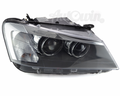 BMW X3 F25 BI-XENON ADAPTIVE HEADLIGHT RIGHT SIDE # 63117276998