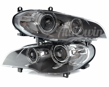 BMW X5 E70LCI BI-XENON HEADLIGHTS # 63117240787 # 63117240788
