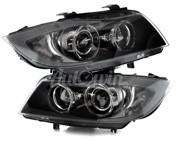 BMW 3 SERIES E90 E91 BI-XENON ADAPTIVE HEADLIGHTS # 63117161671 # 63117161672