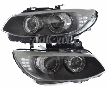 BMW 3 SERIES E92 E93 LCI BI-XENON ADAPTIVE HEADLIGHTS # 63117273211 # 63117273212