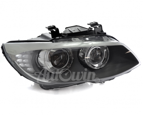 BMW 3 SERIES E92 E93 LCI BI-XENON ADAPTIVE HEADLIGHT RIGHT SIDE # 63117273212