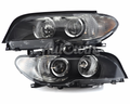 BMW 3 Series E46 Coupe HALOGEN HEADLIGHTS # 63127165889 # 63127165890