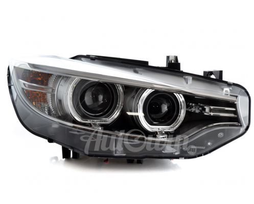 BMW 4 Series F32 F33 F36 F80 F82 F83 BI-XENON HEADLIGHT RIGHT SIDE # 63117377844