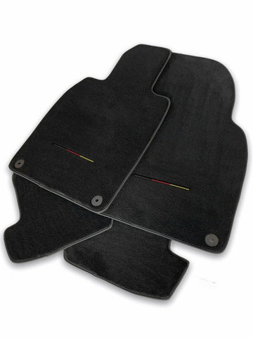 Floor Mats for Porsche Cayenne 2010-2018 92A LHD Carpet Germany Flag AutoWin