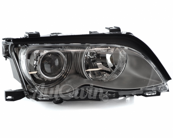 BMW 3 Series E46 Sedan BI-XENON HEADLIGHT AL/TITAN ECE RIGHT SIDE # 63127165788