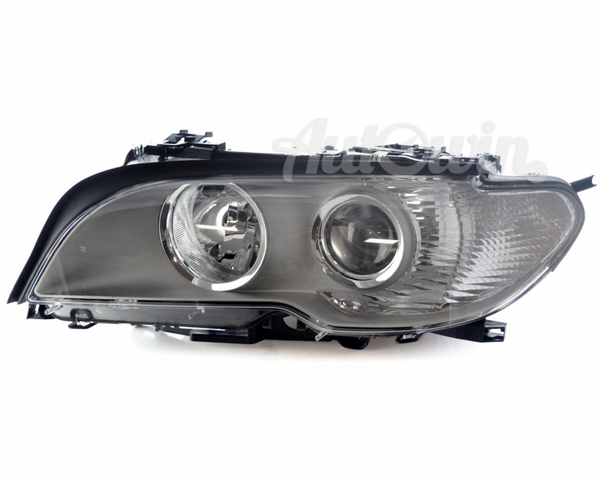 BMW 3 Series E46 Coupe HALOGEN HEADLIGHT WHITE TURN INDICATOR TITAN LEFT SIDE # 63127165919