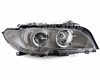 BMW 3 Series E46 Coupe HALOGEN HEADLIGHT WHITE TURN INDICATOR TITAN RIGHT SIDE # 63127165920