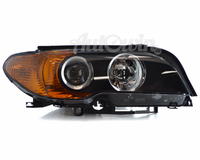 BMW 3 Series E46 Coupe HALOGEN HEADLIGHT YELLOW TURN INDICATOR RIGHT SIDE # 63126920576