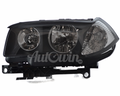 BMW X3 E83 HALOGEN HEADLIGHT ECE LEFT SIDE # 63123418411 , 63126923855
