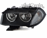 BMW X3 E83 LCI HALOGEN HEADLIGHT WHITE TURN INDICATOR LEFT SIDE # 63127162189