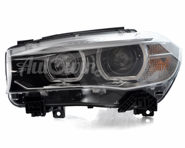 BMW X5 / X6 F15 F16 F85 F86 BI-XENON ADAPTIVE HEADLIGHT LEFT SIDE # 63117317105