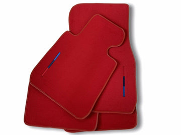 Red Floor Mats For BMW 1 Series F52 With M Package AutoWin Brand