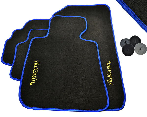FLOOR MATS FOR BMW 7 Series E65 AUTOWIN.EU TAILORED SET FOR PERFECT FIT