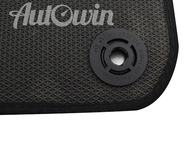 Floor Mats For Porsche 911 Carrera 966 C4 (1996-2004) with AutoWin.eu Golden Logo