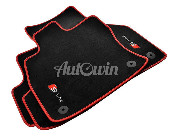 Floor Mats For Audi A2 8Z with Sline Logo /// Different Colors