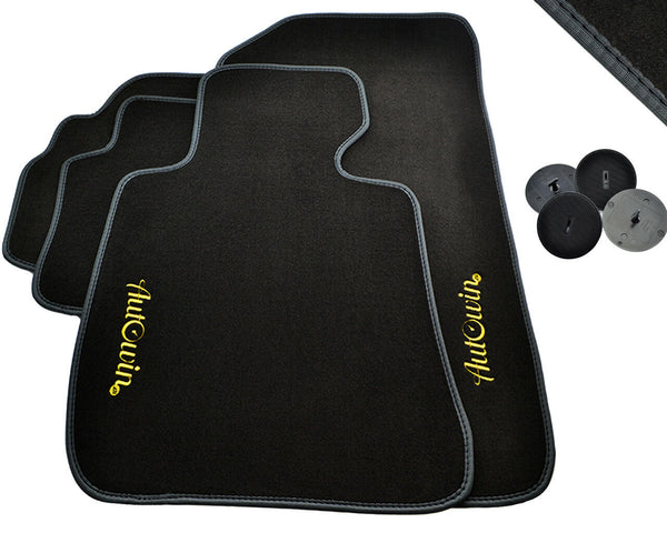 FLOOR MATS FOR BMW M4 Series F83 Convertible AUTOWIN.EU TAILORED SET FOR PERFECT FIT