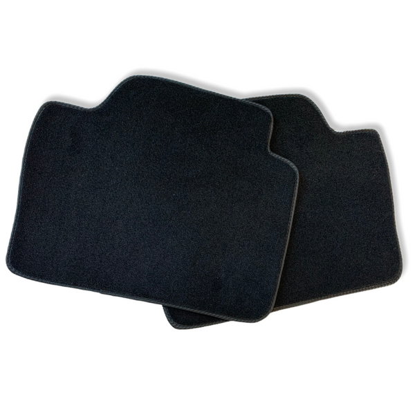 Black Floor Mats For BMW 1 Series E87 With Color Stripes Tailored Set Perfect Fit