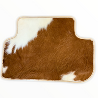 FLOOR MATS FOR Bentley Arnage (1998–2009) ROVBUT Limited Edition Real Cow Leather