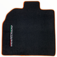 Floor Mats for Lamborghini Aventador Leather Tailored AutoWin Luxury Limited Edition (2012-2020)