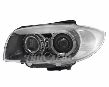 BMW 1 SERIES E82 E88 E87 E81 BI-XENON ADAPTIVE HEADLIGHT LEFT #63117181293