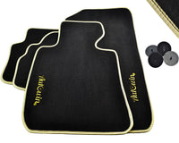 FLOOR MATS FOR BMW 7 Series F02 AUTOWIN.EU TAILORED SET FOR PERFECT FIT