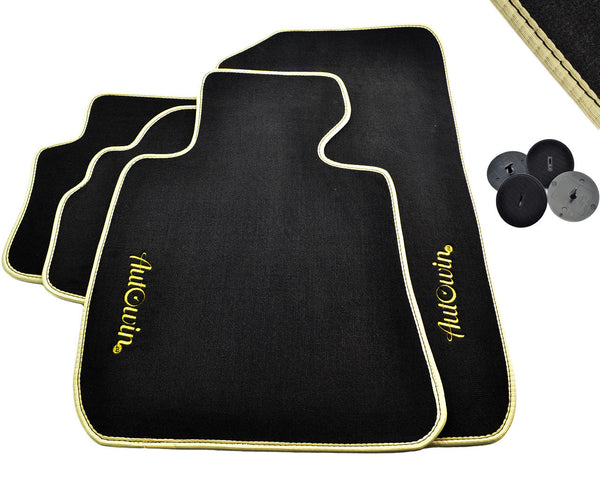 FLOOR MATS FOR BMW 3 Series F80 AUTOWIN.EU TAILORED SET FOR PERFECT FIT