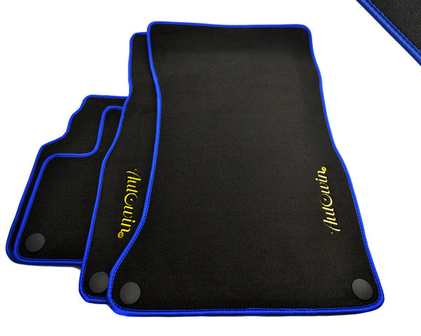 Floor Mats For Mercedes-Benz CLS-Class W218 (2011-2018) with AutoWin.eu Golden Logo