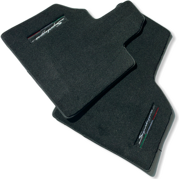 Floor Mats for Lamborghini Gallardo Superleggera with Italian Flag