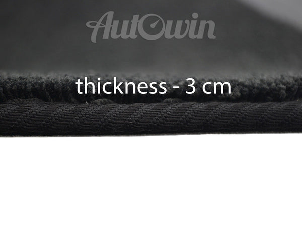 Mats For Audi S1 8X (2015-Present) with AutoWin.eu Golden Logo