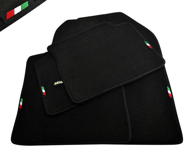 FLOOR MATS FOR Alfa Romeo MiTo (2016-2020) AUTOWIN.EU TAILORED SET FOR PERFECT FIT