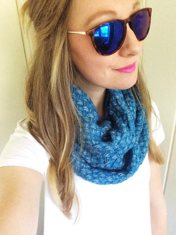 chunky knit infinity scarf (2 colors)