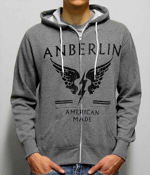 Anberlin Made Zip Hooded Sweatshirt