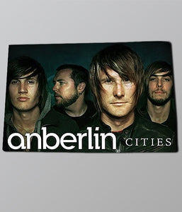 Anberlin - Cities Poster
