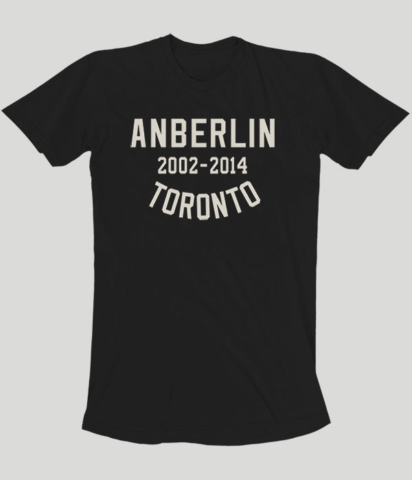 Anberlin Final Tour Toronto Shirt