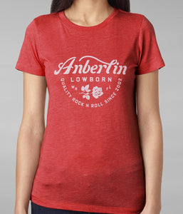 Anberlin Quality Womens Shirt