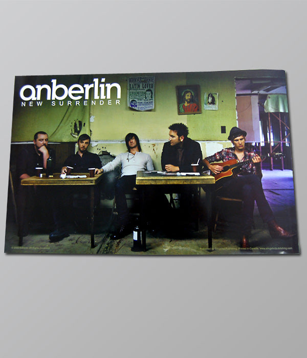 Anberlin New Surrender Poster