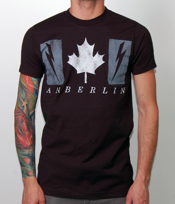 Anberlin Canada Tour 2013 Shirt