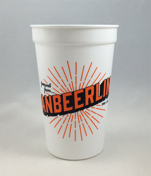 anBEERlin Plastic Cup