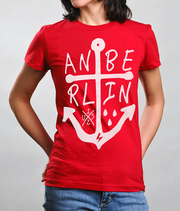 Anberlin Sail Away Womens Shirt