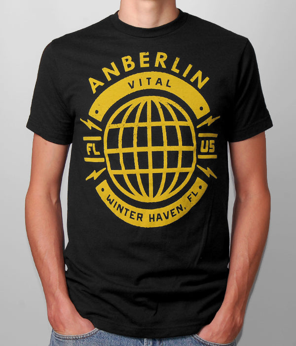 Anberlin Globe Shirt