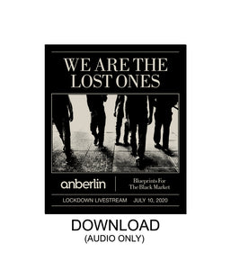 Anberlin We Are The Lost Ones Audio Digital Download