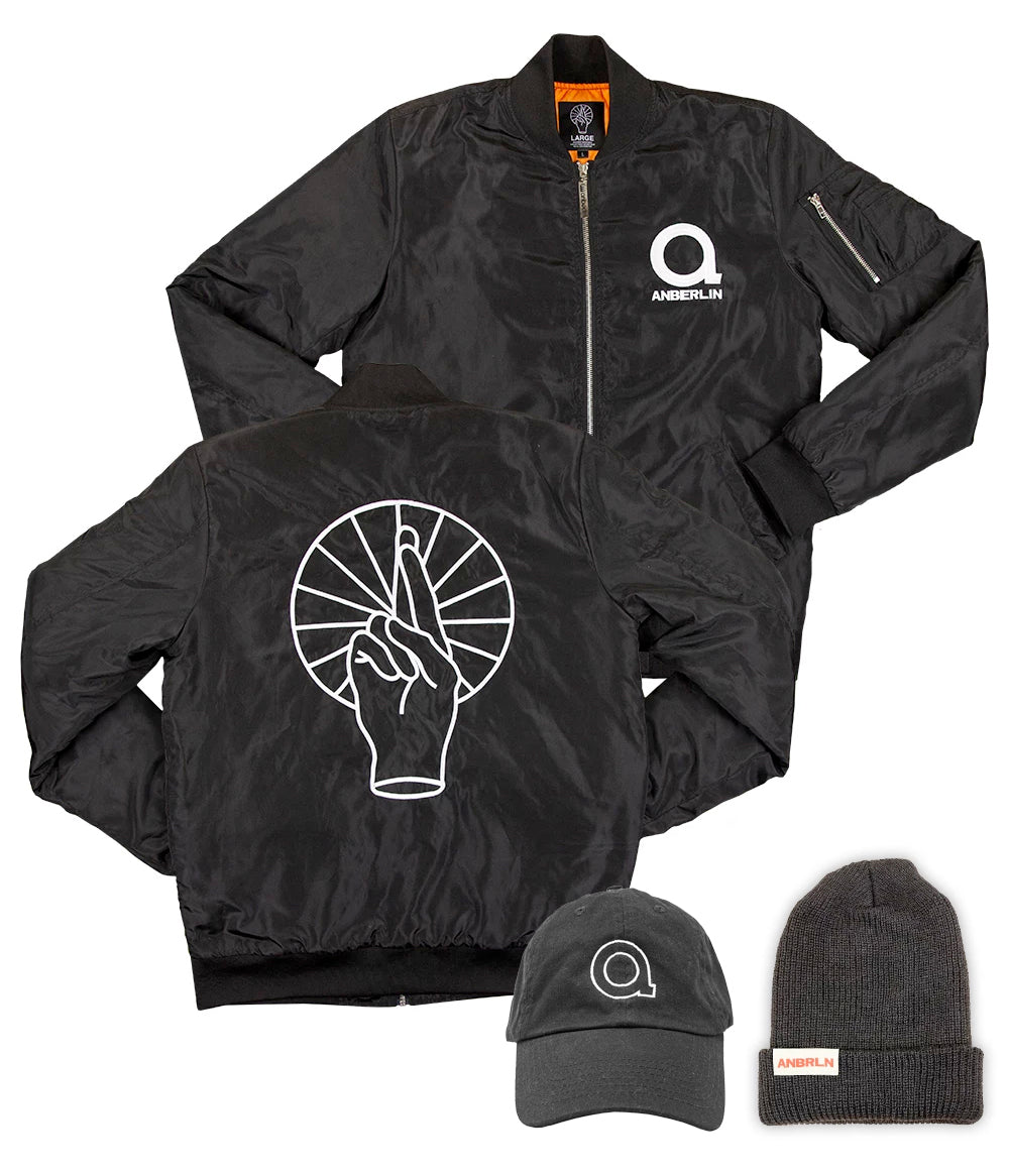 Anberlin Bomber & Hat Bundle