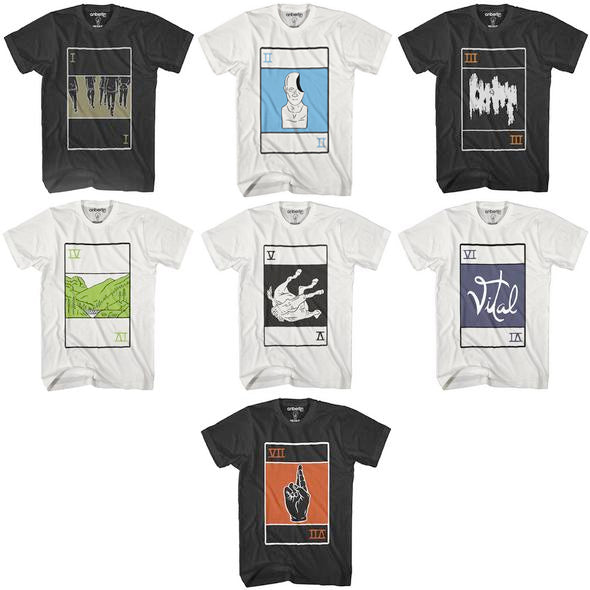 Anberlin Album Cover Shirts Bundle