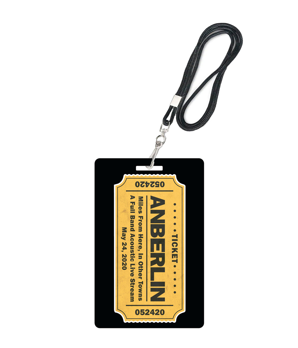 Anberlin Miles From Here Livestream Laminate