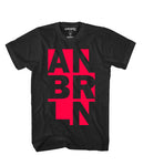 Anberlin Knockout Shirt (Black)