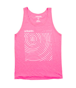 Anberlin Live Forever Tank Top (Pink)