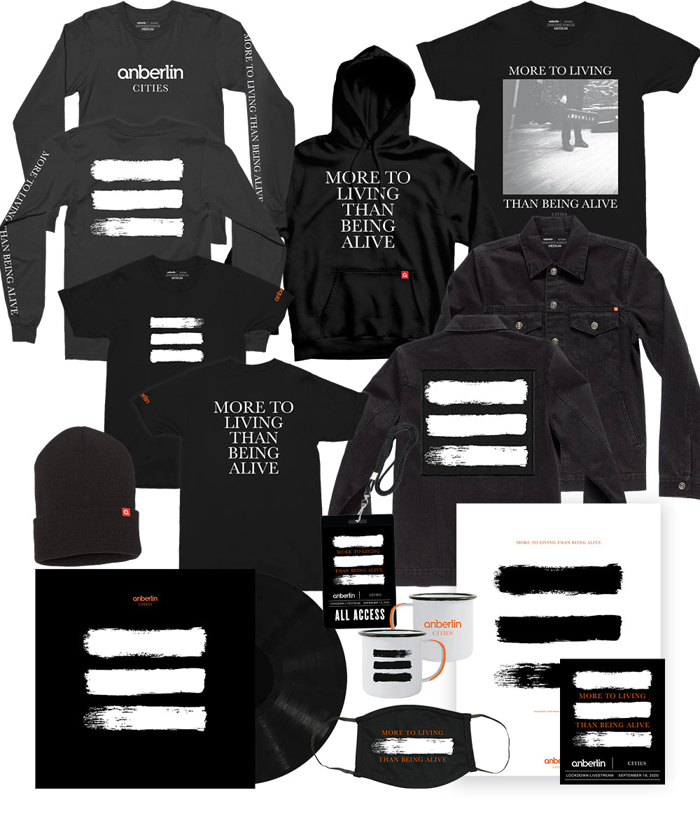 Anberlin More To Living Than Being Alive Bundle #12 *PREORDER