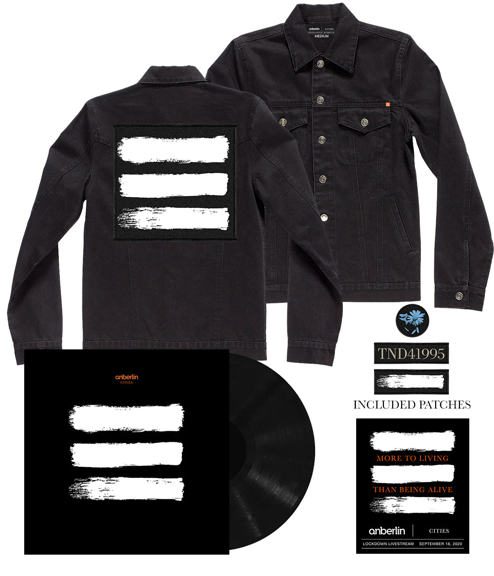 Anberlin More To Living Than Being Alive Limited Bundle *PREORDER - SHIPS 1/29/2021